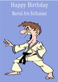 Martial Arts-Happy Birthday 2